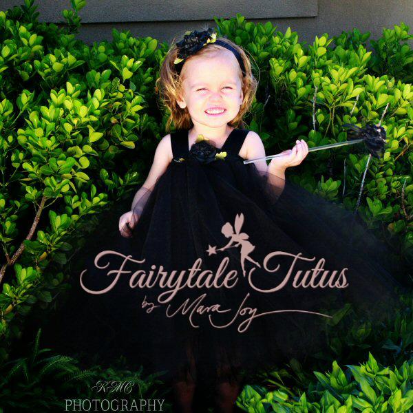 Black-Princess-Tulle-Wedding-Tutu