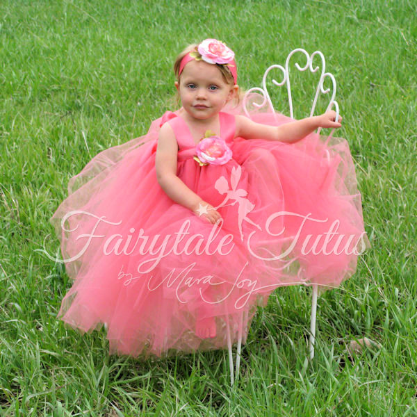 Coral-Wedding-Fairy-Princess-Tutu