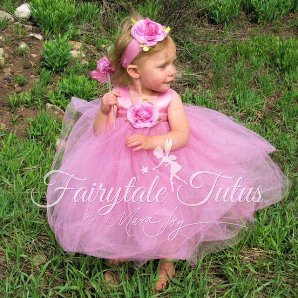 Soft-Rose-Fairy-Costume-Tutus