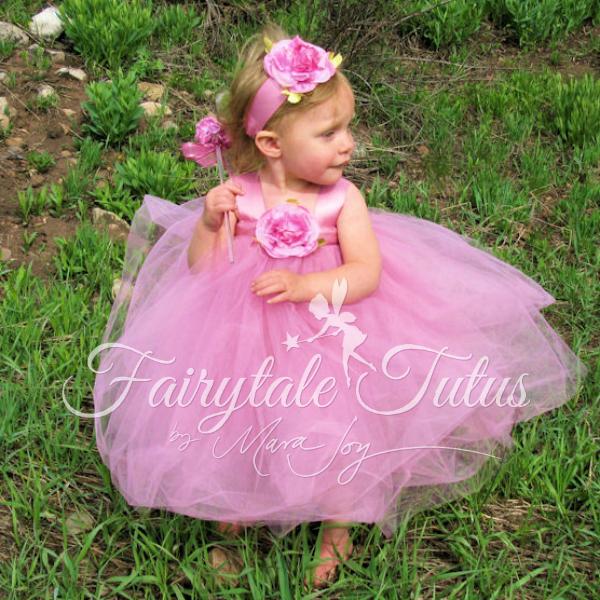Soft-Rose-Fairy-Costume-Tutus