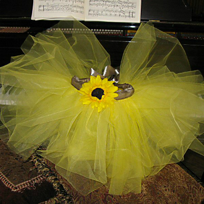Sunflower-Tutu-on-Piano-600