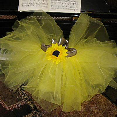Sunflower-Tutu-on-Piano-600