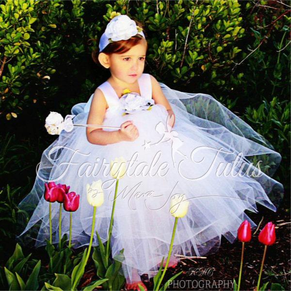White-Girls-Tulle-Design-Wedding