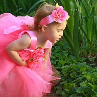 839b927c0ae Candy Pink Fairy Princess Ballet Tutu Dress for Little Girls
