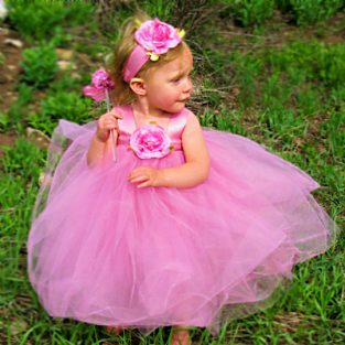 Mauve-Rose-Tulle-Gown