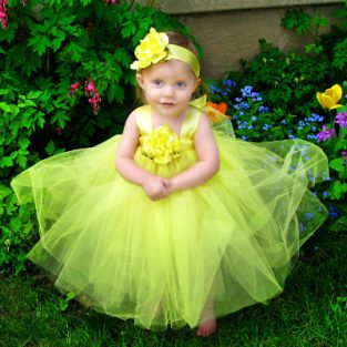 Yellow-Flower-Girl-Tutu-Outfit