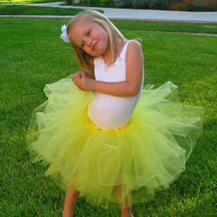yellow-child-ballet-tutu