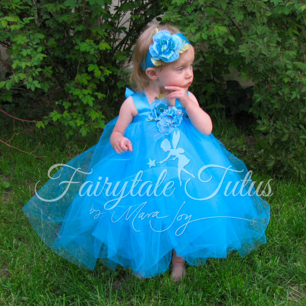 Rose pink tulle flower girl dress tutu style princess gown fairytale