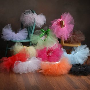 Colorful Tutus for Girls