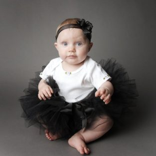 5b154174b0 Black Baby Tutu Halloween Costume Witch Cat Tulle Skirt Toddler Girl Clothes  Birthday Party Outfit Photo Shoot Prop Infant Bow Headband Set
