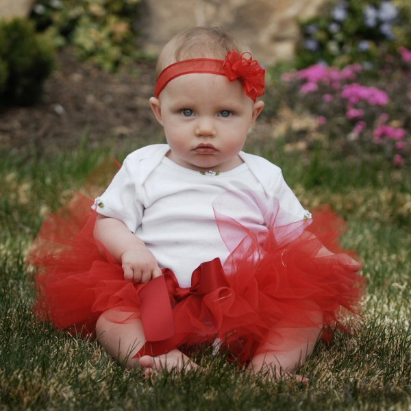 Christmas Tutu Infant Red Bow Headband Baby Girl Holiday Attire Tulle Skirt Bodysuit Cake Smash Photo Prop Toddler First Birthday Party Set