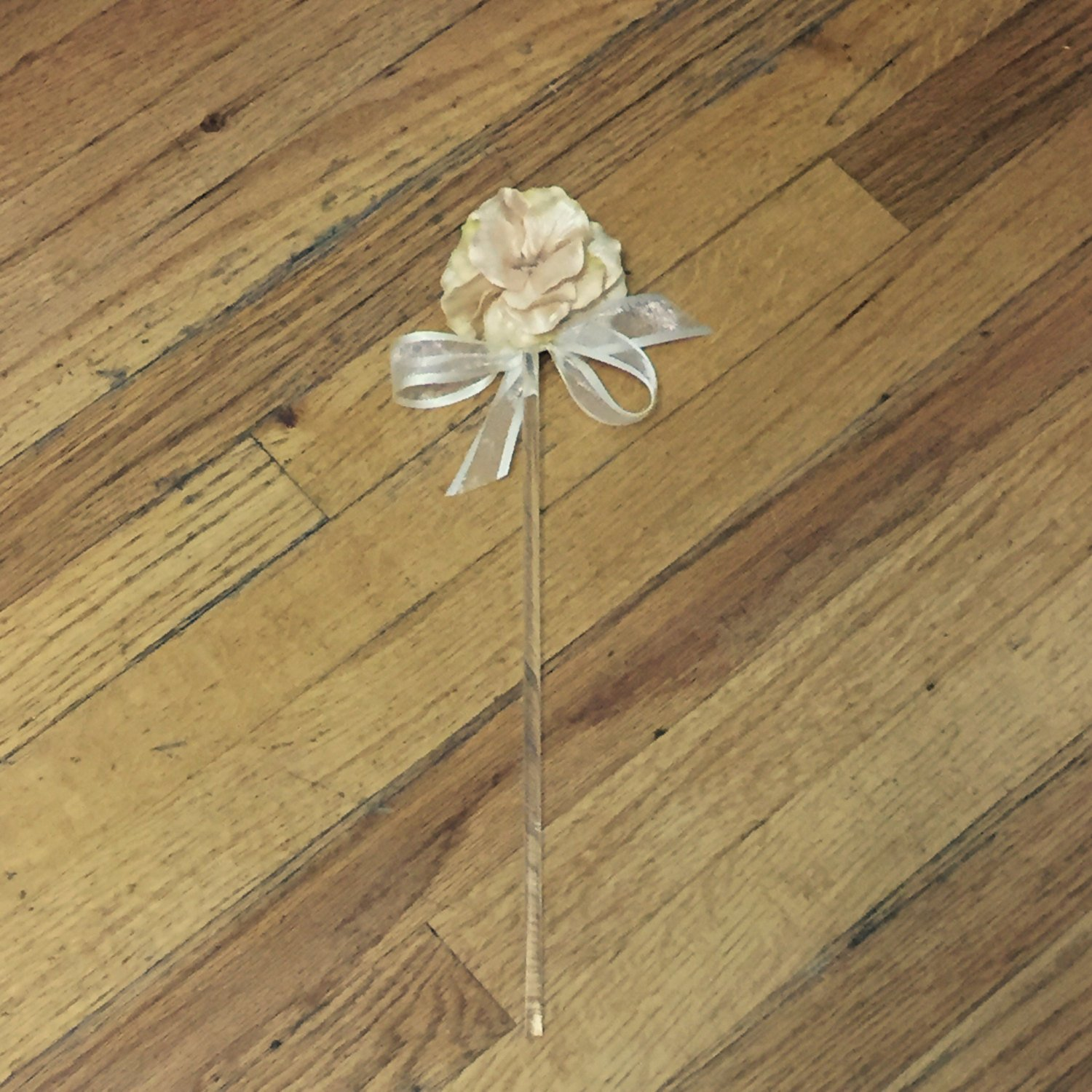 Gold Fairy Wand Halloween Costume Outfit Boho Woodland Wedding Flower Girl Accessory Fairytale Princess Dress Up First Birthday Party Favors