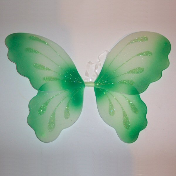 Green Fairy Wings Tinkerbell Pixie Forest Festival Outfit Woodland Wedding Butterfly Set Baby Toddler Halloween Costume Birthday Gift Ideas
