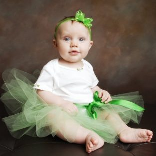 1acde186a4 Green Tutu Tinkerbell Toddler Fairy Halloween Costume Baby Girl Dress Up  Woodland Forest Pixie Hollow First Birthday Party Outfit Photo Prop