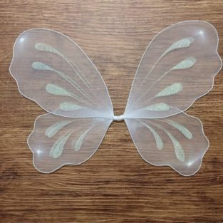 2608b86ce4 Ivory Fairy Wings Bridal Shower Wedding Flower Girl Sugarplum Fairy Costume  Woodland Birthday Gift Ideas Kids Cosplay Fairytale Dress Up Set