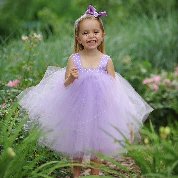 Purple Easter Dress Lavender Tulle Flowergirl Gown First Birthday Dress 1st Bday Baby Girl Polka Dot Fairy Princess Tutu Photo Prop Ideas