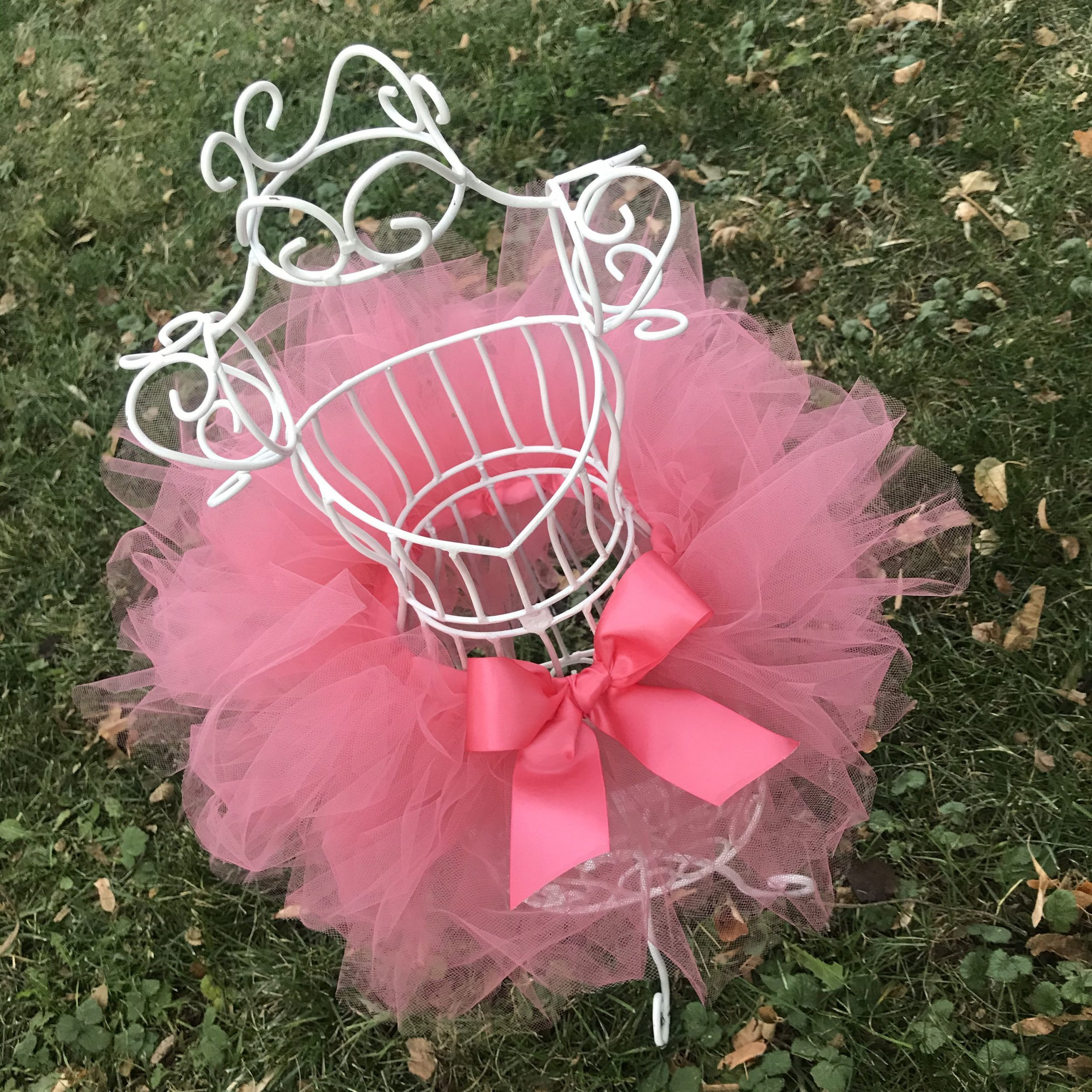 Coral Baby Tutu Fairy Costume Newborn Infant Shower Gift Set Toddler Girl Half Birthday Outfit or First Birthday Cake Smash Photo Shoot Prop