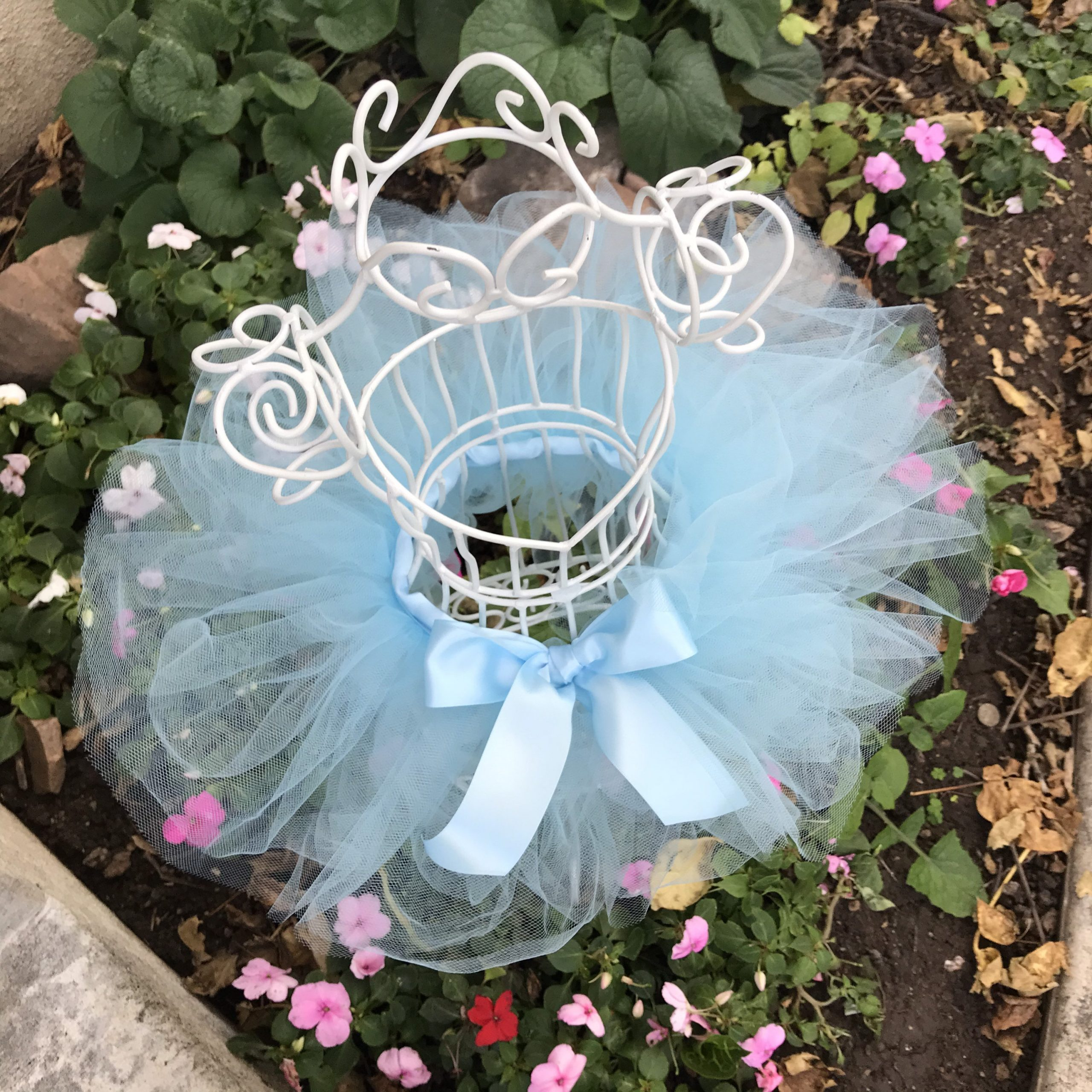 Blue Baby Tutu Girls Toddler Outfit Child Halloween Costume Kids Periwinkle Dress Up Gifts First Birthday Party Cake Smash Photo Shoot Props