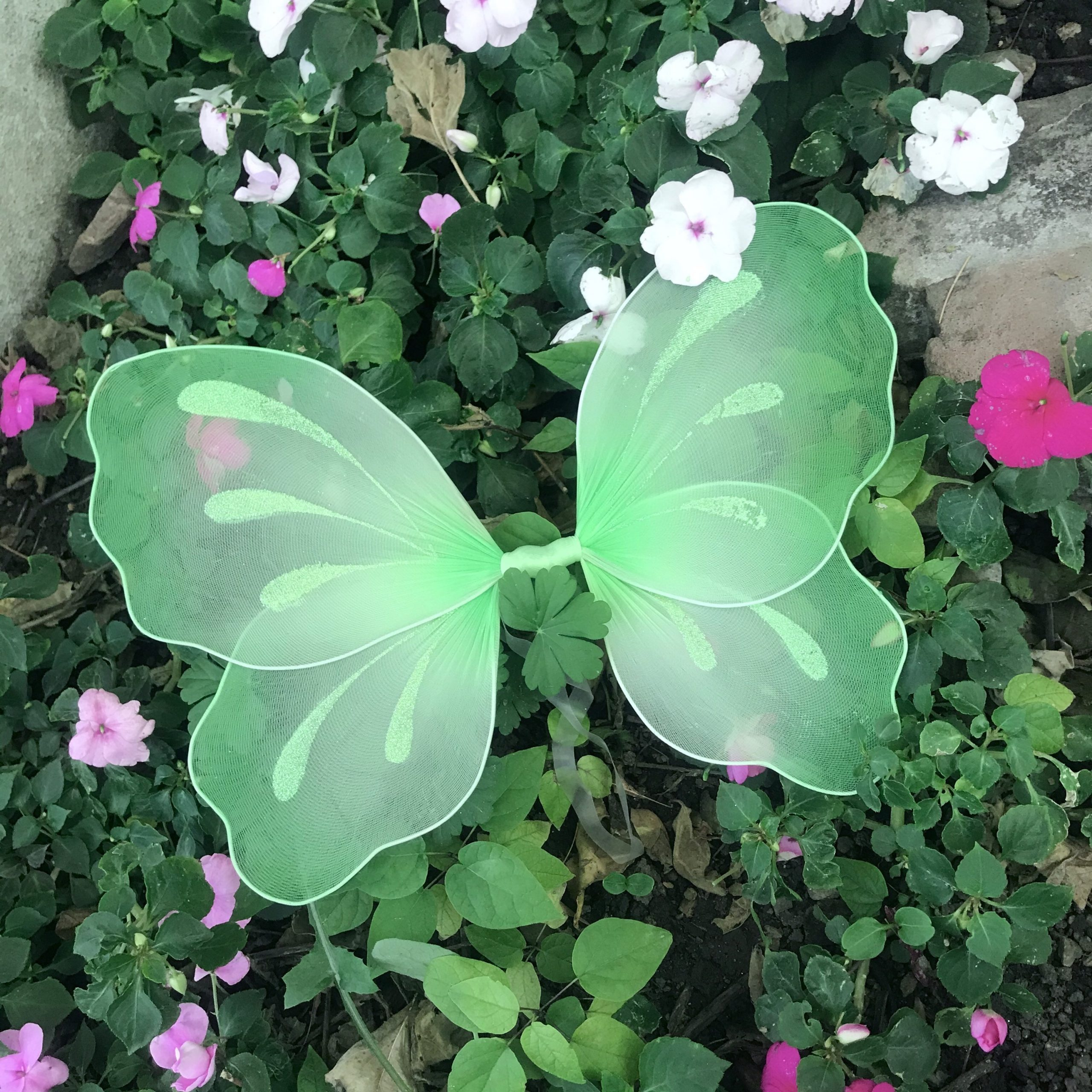 Green Fairy Wings Butterfly Halloween Costume Rustic Woodland Wedding Renaissance Teen Adult Cosplay Outfit Tinkerbell Pixie Flower Girl Set