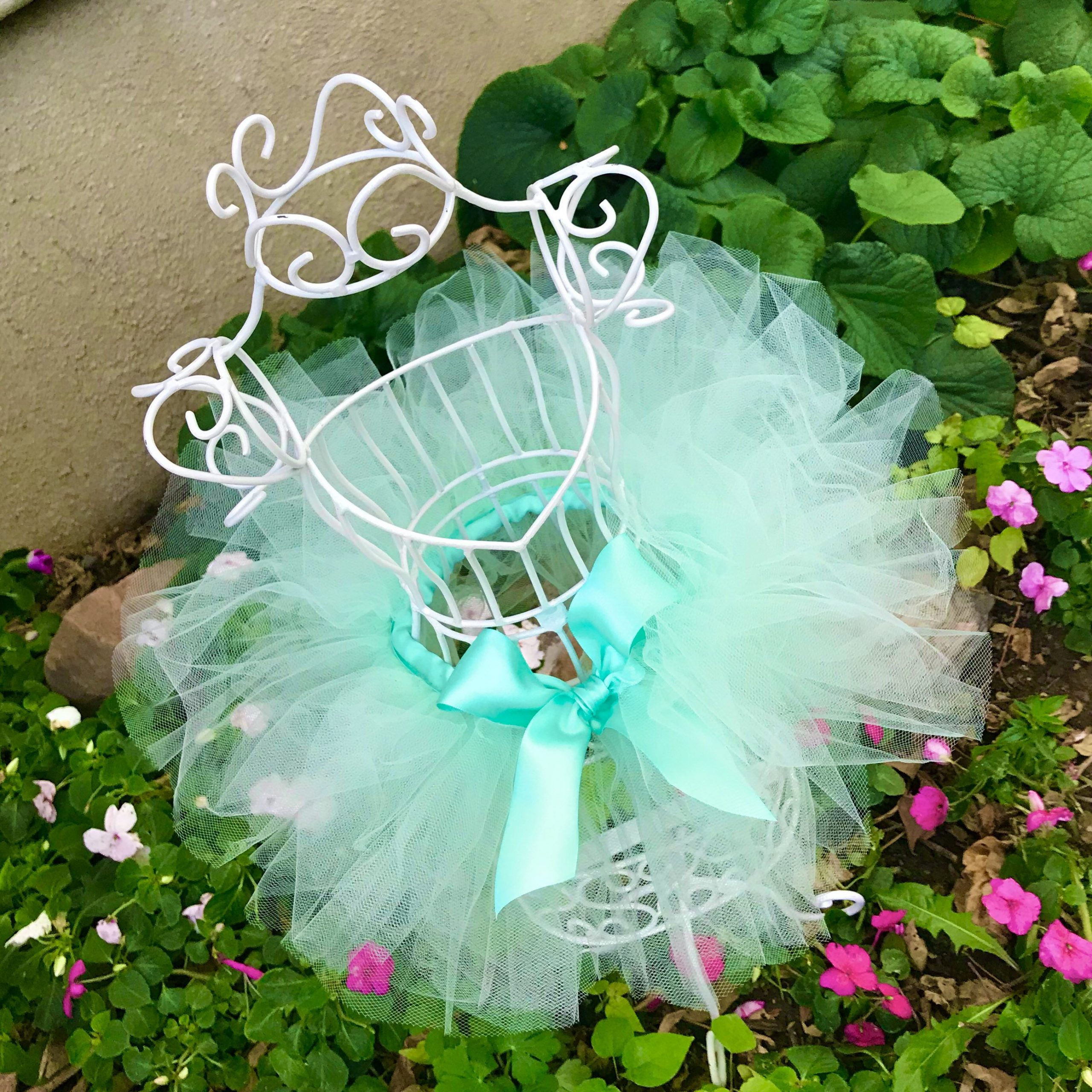 Mint Green Tutu Baby Halloween Outfit