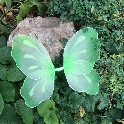 Green Fairy Wings