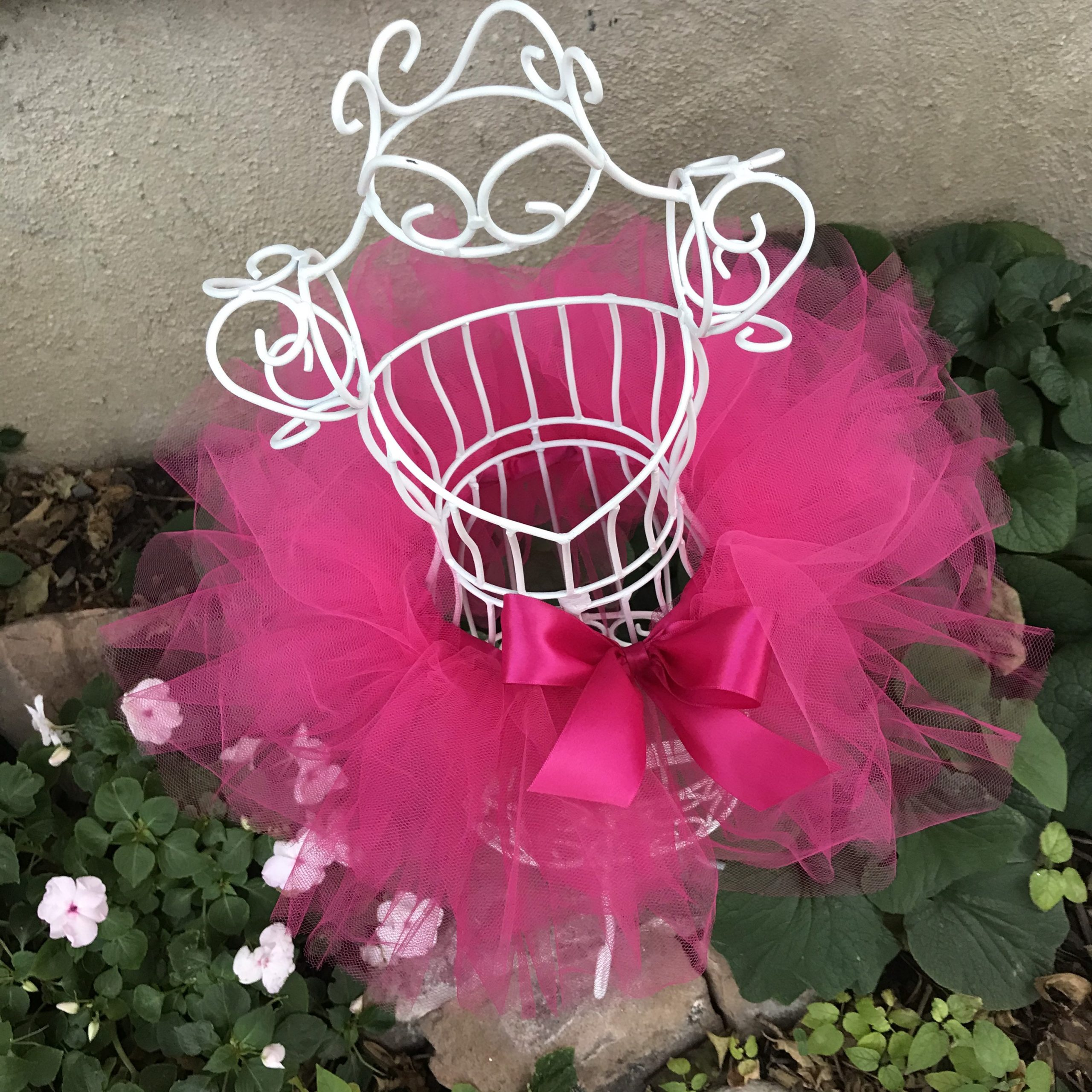 Hot Pink Tutu Baby Toddler Ballerina Outfit Child Girls Halloween Costume Dress Up First Birthday Party Cake Smash Photo Shoot Prop Gift Set