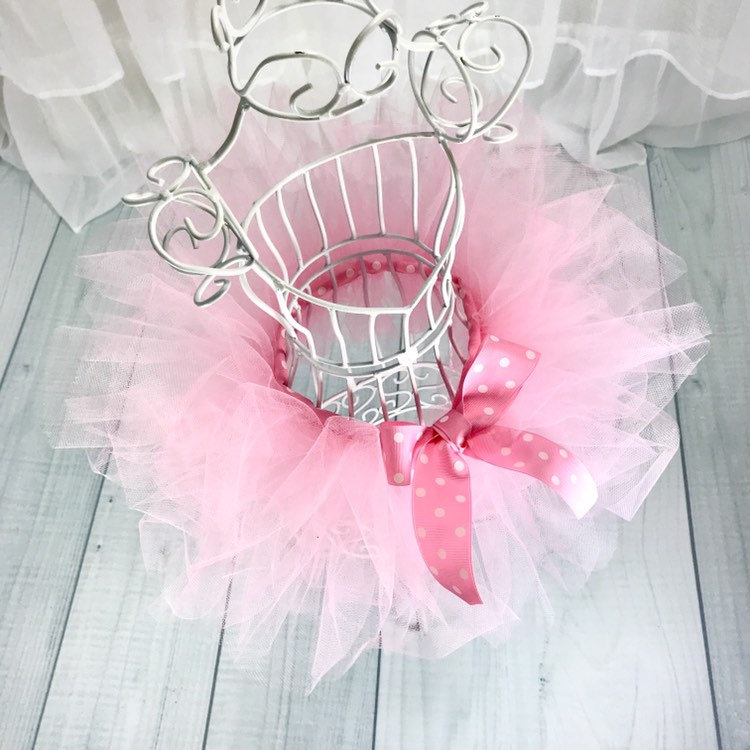 Pink Tutu Halloween Costume Ballerina Sugar Plum Fairy Nutcracker Ballet Tulle Dress Photoshoot Prop Baby Girl Toddler First Birthday Outfit