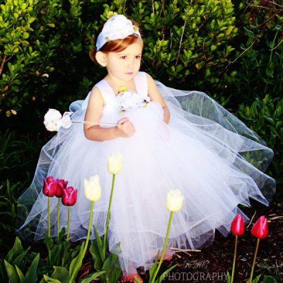 baby girl white dress