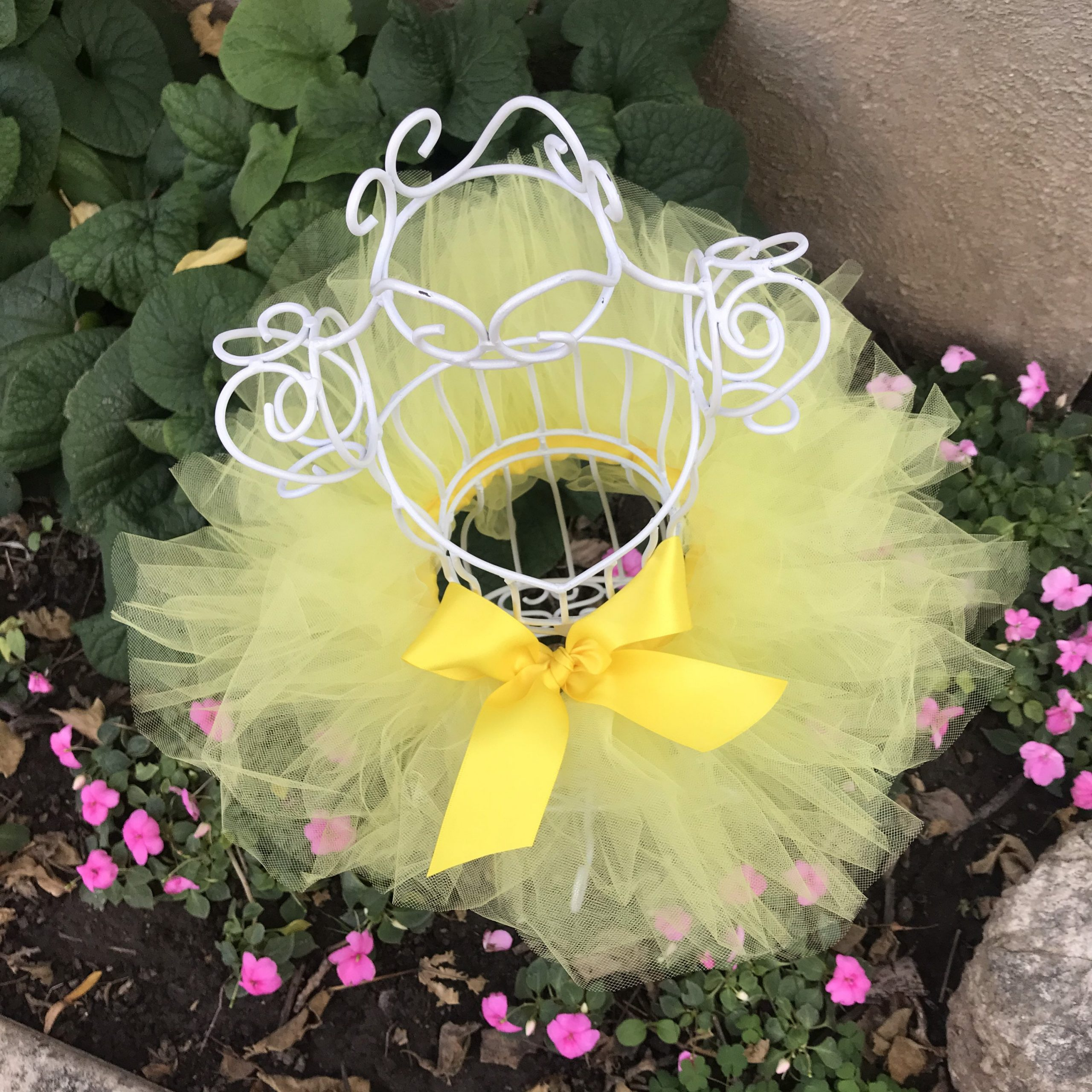 Yellow Tutu Dress Up Ballerina Outfit Toddler Girls Pixie Tinkerbell Halloween Costume First Birthday Cake Smash Photo Prop Baby Shower Gift